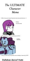 character meme Dullahan by SirBlackDeath