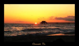 Sunset in Oceanside by bostick