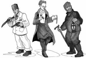 1920s characters by Pachycrocuta