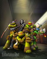 TMNT THE good THE Bad and THE Casey Jones by TurtleFan2