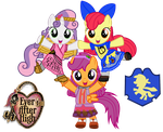 We are the Cutie Fairy Tale Crusaders! YAY! by ThunderFists1988