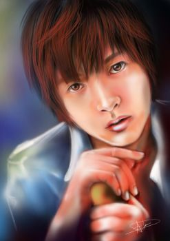 Yamapi (Yamashita Tomohisa)- Digital Painting by Playful-Palette
