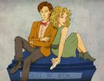 Doctor and River by raquelabdool