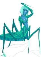 Insect Girl by PauNZ