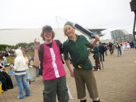 May expo 2009 - Red and Link by regiinator
