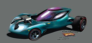 Hot Wheels Candyburner by candyrod