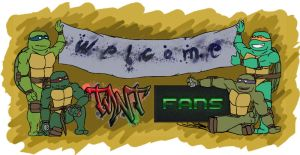 TMNT Fans - Welcome Sign by NinjaTertel