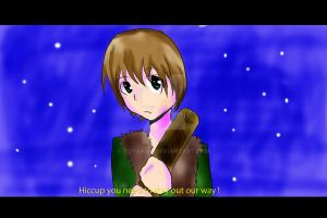 Hiccup screen shot by toyakun