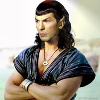 Pissed Off Spock of Troy by spock2u