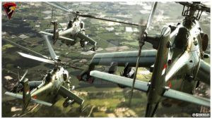 Mi-35P Formation by Siregar3D