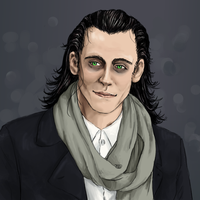 Scarf number 126 of the Loki collection by StripedSmoker