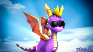 [SFM] Cool Spyro by ZOomERart
