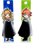 Hermione and Ron bookmarks by Danime-chan