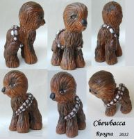 Chewbacca pony by Roogna