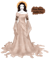 Marian Redesign: Haunting Dress by OtakuGirl16