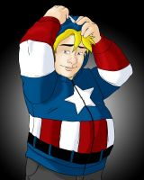 Jeremy Captain America by Jaymzeecat