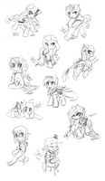 Random Chibi Requests by FuyusFox