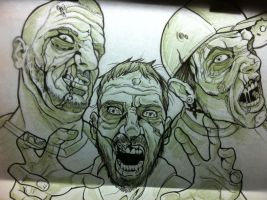 zombies by 5stardesigns