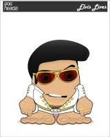 :Submission: Elvis Lives by EggHeadz