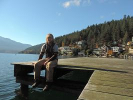 At Cultus lake 11/1/2014~3 by Mathayis