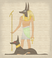 Anubis by RivenPine
