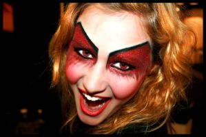 Halloween makeup by PaulineWeglin
