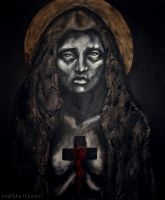 from THE MORGUE OF SAINTS series by MWeiss-Art