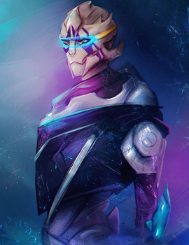 Vetra - Mass Effect Andromeda by FallonBeaumont