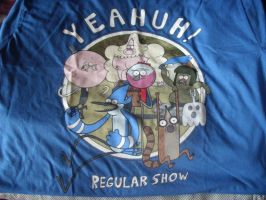 Regular Show Yeahuh T-Shirt by LouisEugenioJR