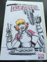 Gwenpool Variant Sketch Cover by DustinEvans