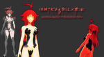 [MMD Newcomer WiP] Witchblade Masane Amaha by VocaloidKatia