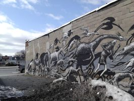 Wall Mural 03 by SirDNA109