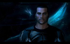 Mass Effect 2 Shepard 2 by AgataFoxxx