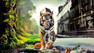 Wallpaper Abstracto TIGRE by MeeL-Swagger