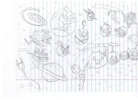 my first angry birds space drawing by twitterfan