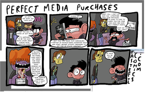 Perfect Media Purchases by EggHeadCheesyBird