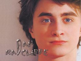 Daniel Radcliffe Blue Eyes... by Shiningneko