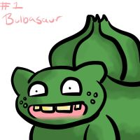 Bulbasaur by Akarashinigami
