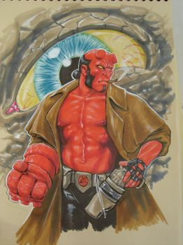 Hellboy by EvangelistaC