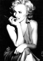 B+W Commission- Marilyn Monroe by nitefise