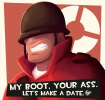 TF2 - The Soldier by dmy-gfx