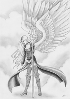 Avacyn, Angel of Hope by KodamaEru