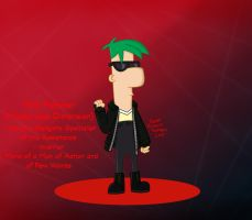 Ferb Fletcher (Mysterious Dimension) by RedJoey1992