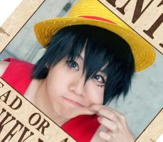WANTED Monkey D. Luffy by jettyguy