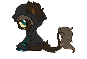 Hoodie YCH Wolfie by LoreHoshi