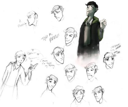 HP-COS-Tom sketches by Voldy-pet
