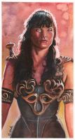 Xena Watercolor by ssava