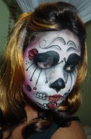 Sugar Skull Attempt by ChunkiMonki