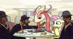 Run DMC vs. Fluttershy's Taco by GSphere