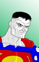 Bizarro Superman by Thuddleston